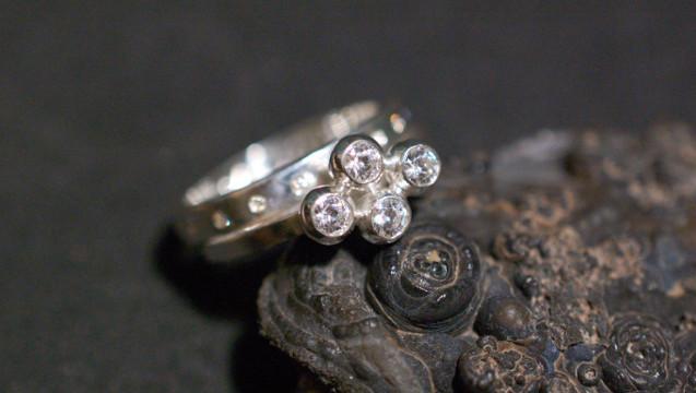 Förlovningsringar silver